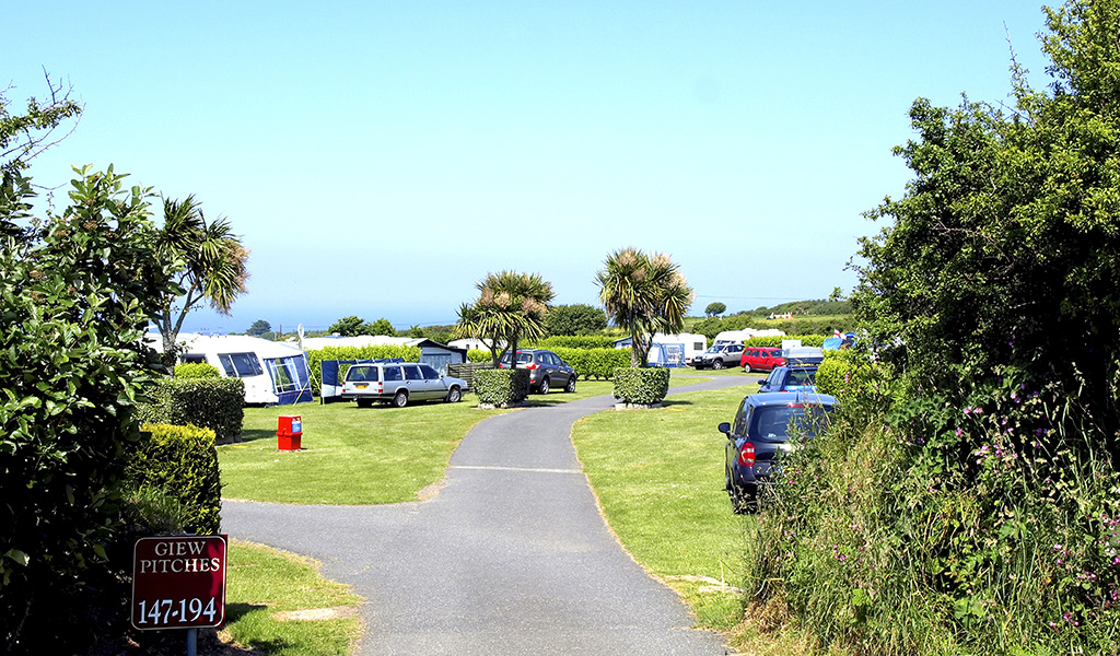 polmanter touring park camping st ives