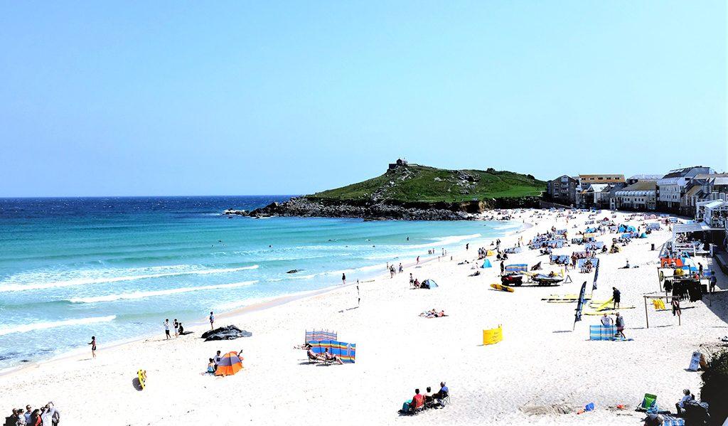 porhtmeor beach
